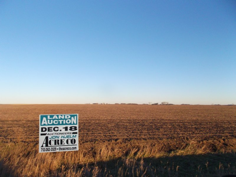 Large Farm With Great Soils : Cylinder : Palo Alto County : Iowa