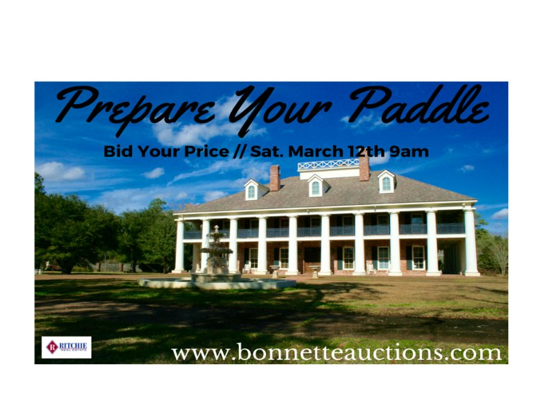 Luxury Property For Sale At Auction : Alexandria : Rapides Parish : Louisiana