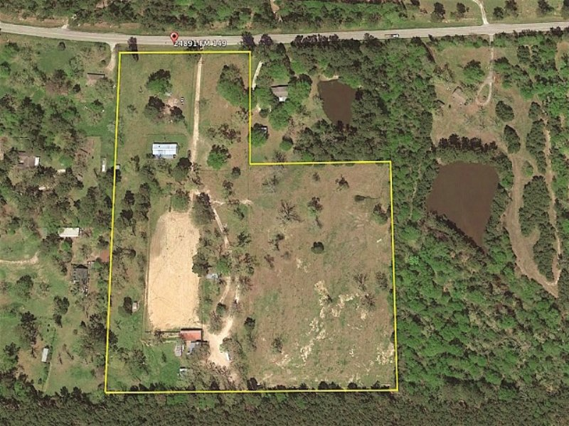 Land For Sale : Richards : Montgomery County : Texas
