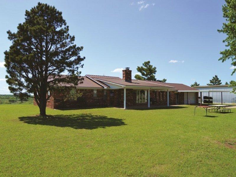 Estate Auction - Real Estate & Pp : Ninnekah : Grady County : Oklahoma