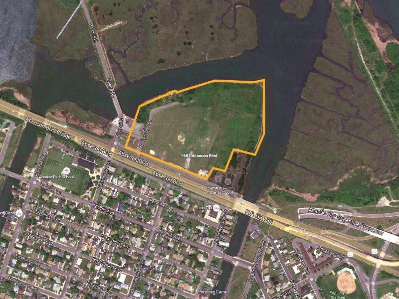 10.43+/- Acre Comm Development Site : Atlantic City : Atlantic County : New Jersey