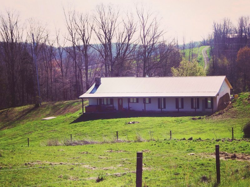 Cattle Farm & Country Home Auction : Brownsville : Edmonson County : Kentucky