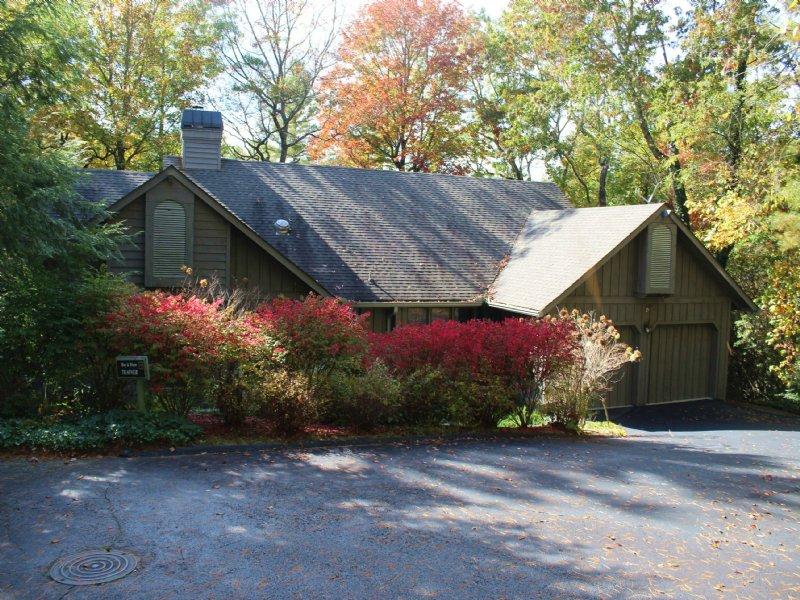 North Carolina Mountain Cottage : Sapphire : Transylvania County : North Carolina
