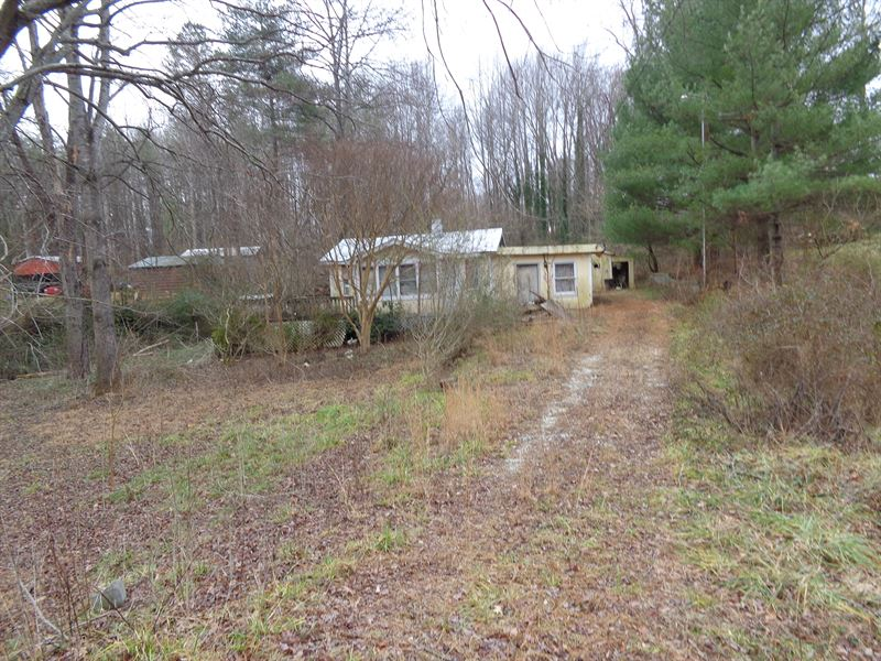 Lot With 2 Dilapidated Houses : Mount Airy : Surry County : North Carolina