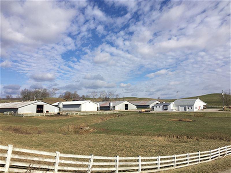 Land & Equipment Auction : Oak Hill : Jackson County : Ohio