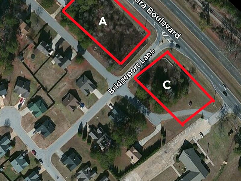Auction - 2 Tracts Sell Absolute : Hampton : Clayton County : Georgia