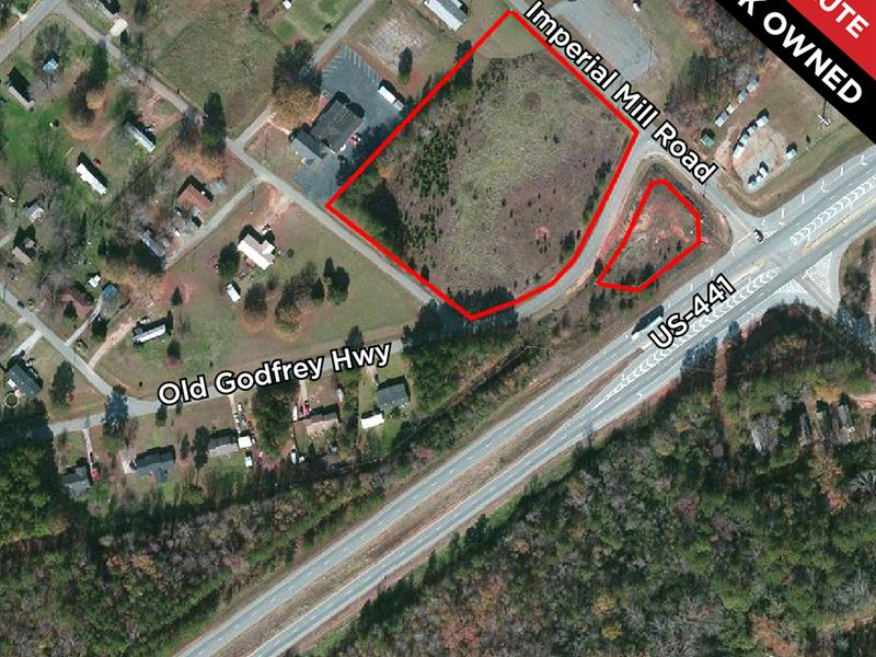 Auction - Bank Owned & Absolute : Eatonton : Putnam County : Georgia