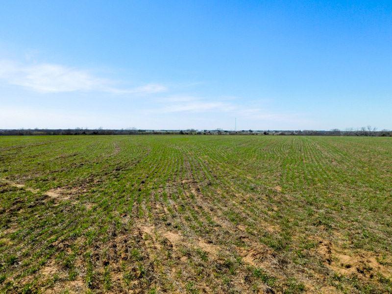 4/13/17 Auction 160 Acres Cropland : Ringwood : Major County : Oklahoma