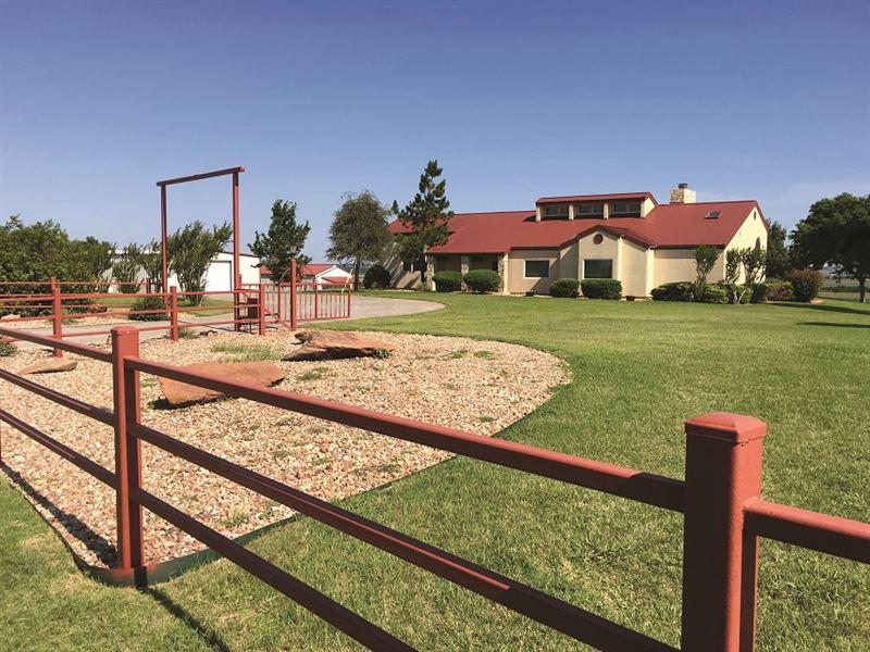 Living Estate Auction : Ninnekah : Grady County : Oklahoma