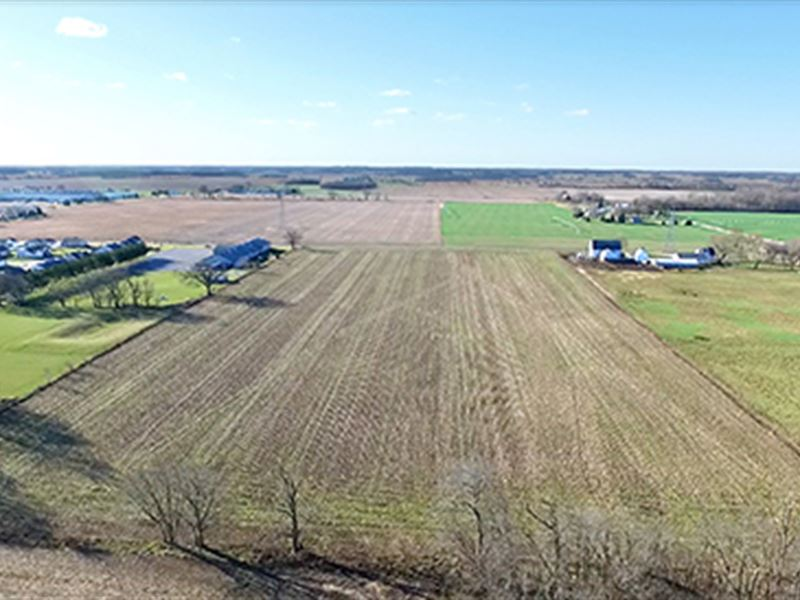 Real Estate Auction - 100+/- Acres : Ligioner : Noble County : Indiana