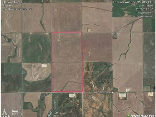 Tillable & Minerals, Barber Co Ks : Hazelton : Barber County : Kansas