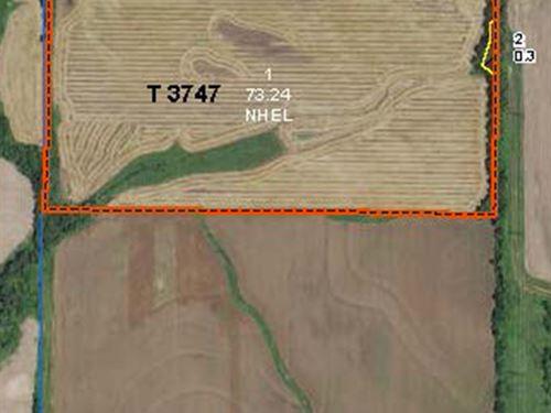 Lender-Owned 73 Ac Quality Tillable : Oxford : Sumner County : Kansas