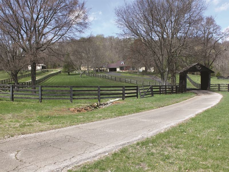 Country Home & Acreage Auction : Bowling Green : Warren County : Kentucky