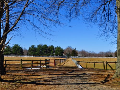 Equestrian Farm On 45+/- Acres : Colts Neck : Monmouth County : New Jersey