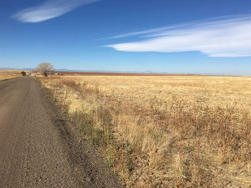 Land Parcel Adjacent To Airport : Aurora : Adams County : Colorado