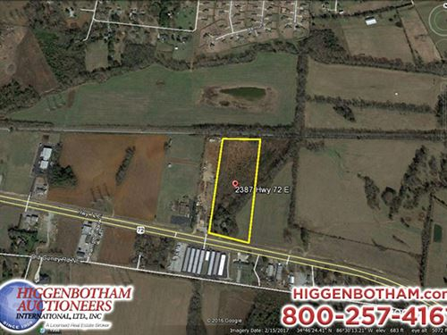 10.8 Acre Development Tract : Huntsville : Madison County : Alabama