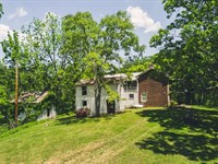 Country Home On 34 Acres : Ferrum : Franklin County : Virginia