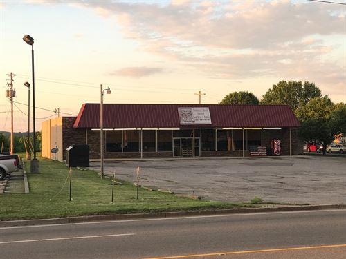 Commercial Bldg & Lot/Retail Space : Newport : Cocke County : Tennessee