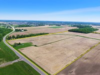 Real Estate Auction - 78 Ac In 4 Tr : Columbia City : Whitley County : Indiana