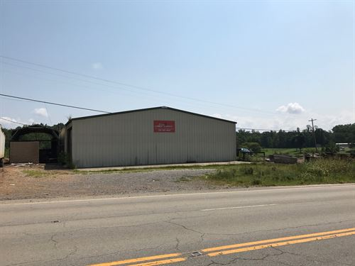 Commercial Building & Land W/Sawmil : Tompkinsville : Monroe County : Kentucky