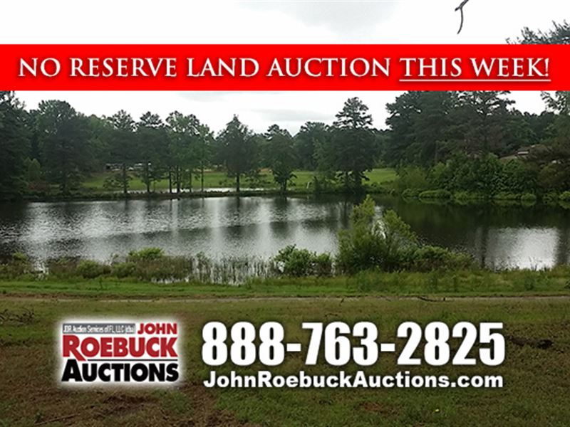 103 Acres Selling With No Reserve : Mabelvale : Pulaski County : Arkansas