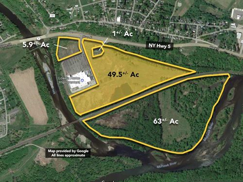 49.50 ac Lowe's Outparcel. : Herkimer : New York