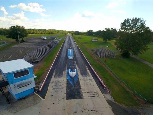 Roxboro Motorsports Dragway : Timberlake : Pitt County : North Carolina