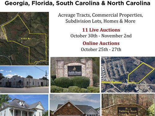 40+ Southeast Properties : Stockbridge : Henry County : Georgia