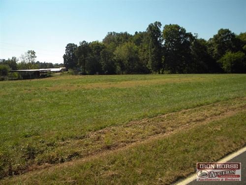 124.5+/- Acres With Home, Cropland : Cleveland : Rowan County : North Carolina
