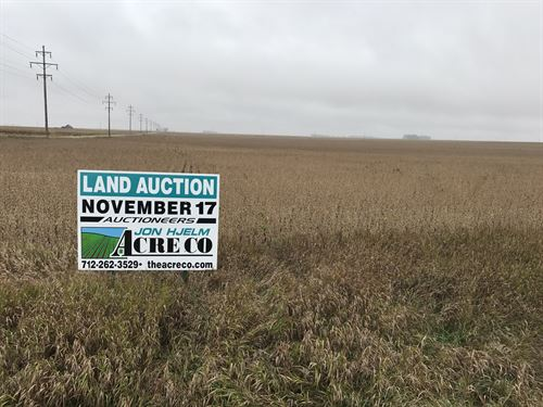 Great Farm With Excellent Soils : Varina : Pocahontas County : Iowa