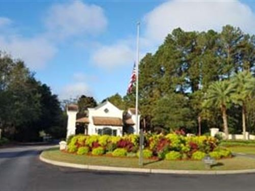 Golf Course Residential Lot : Bluffton : Beaufort County : South Carolina