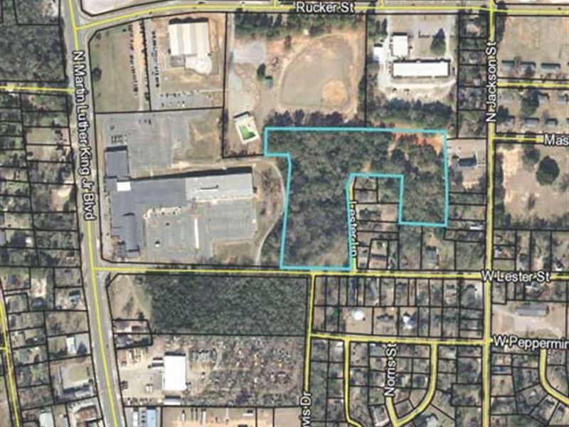 Residential Land, Americas, Ga : Land Auction : Americus