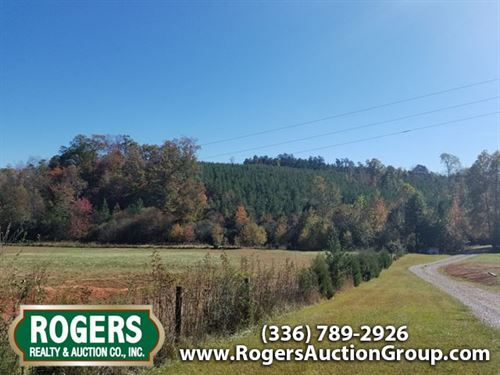 Multi Land Auction In Nc : Stoneville : Rockingham County : North Carolina