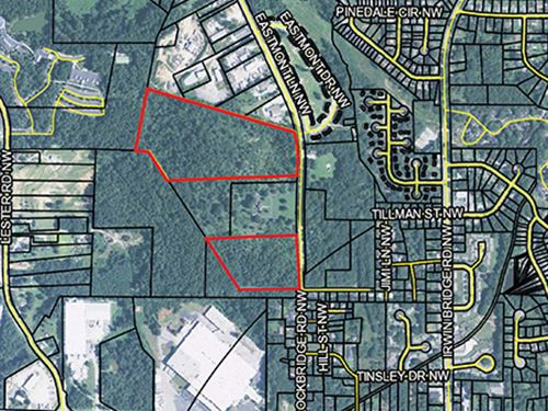2 Residential Land Tracts : Conyers : Rockdale County : Georgia