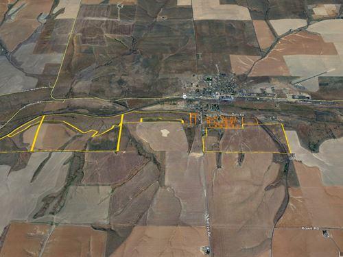 1020 Acre Dryland Farm : Lind : Adams County : Washington