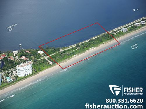 12+ Ac Oceanfront Development Site : Jensen Beach : Saint Lucie County : Florida