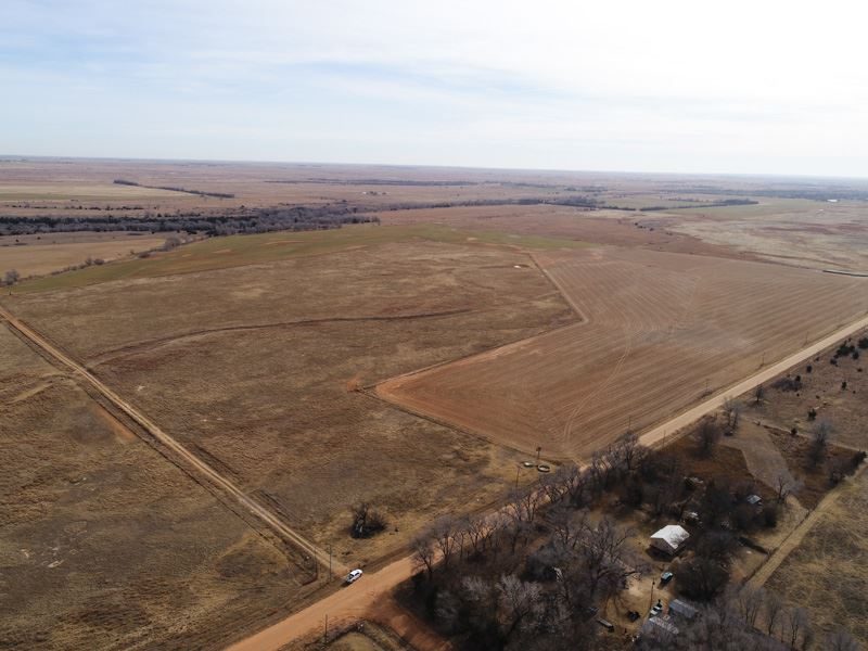 Cattle Farm With Hunting Land : Anthony : Harper County : Kansas