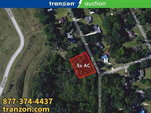 .5+/- Ac Residential Lot, Ocala, Fl : Ocala : Marion County : Florida