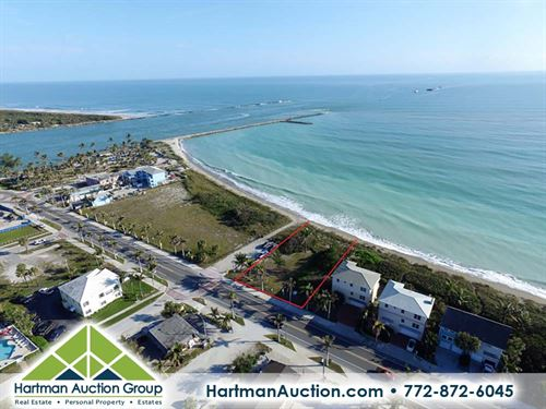 Oceanfront Property - Available Now : Fort Pierce : Saint Lucie County : Florida