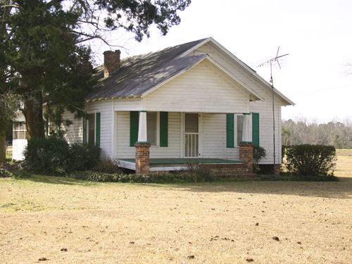 Farmland, Timberland Country Homes : Quitman : Brooks County : Georgia