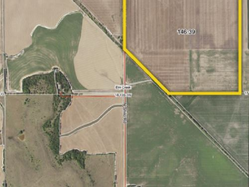 Kansas Farmland Auction : Salina : Saline County : Kansas