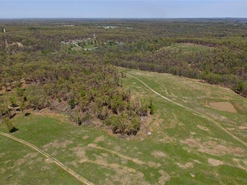 High Fence Land With 444.63 : Locust Grove : Mayes County : Oklahoma