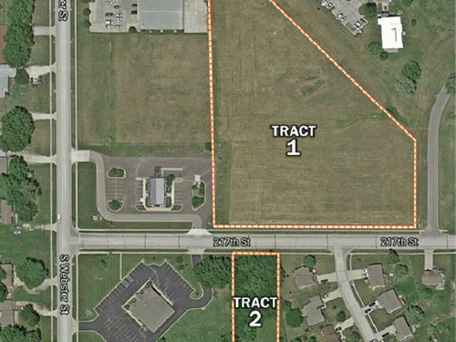 Kansas Commercial Development Land : Spring Hill : Miami County : Kansas