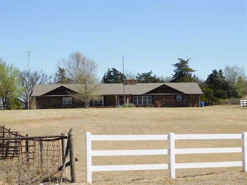 Home With Acreage : Cleo Springs : Major County : Oklahoma
