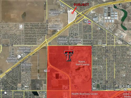 Development Land Prime Location : Lubbock : Texas