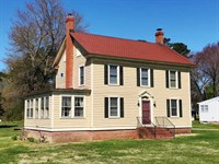 Home With Acreage Estate Auction : Lottsburg : Northumberland County : Virginia