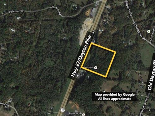 Approx 12.56Ac Lot. Taxes Approx : Soddy-Daisy : Hamilton County : Tennessee