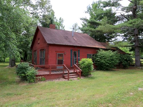 Home & 39 Acres In 5 Tracts : Sparta : White County : Tennessee