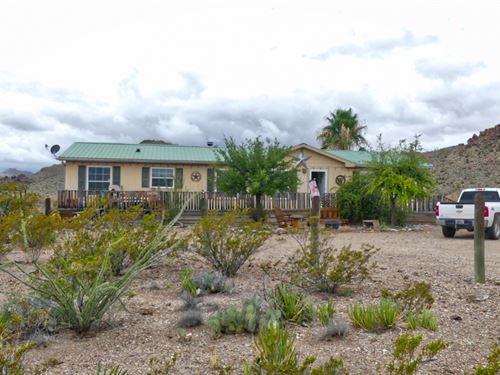 High Desert Home : Terlingua : Brewster County : Texas