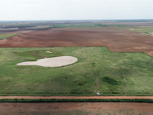 156 Acres & Producing Minerals : Pond Creek : Oklahoma County : Oklahoma
